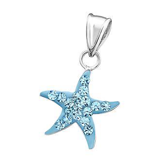 Star - 925 Sterling Silver Pendants - W14395x