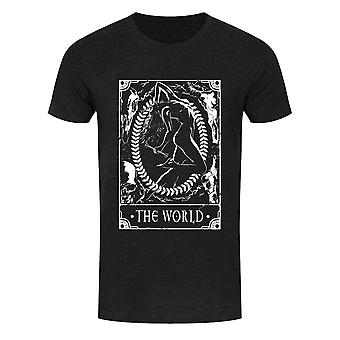 Deadly Tarot Mens The World T Shirt