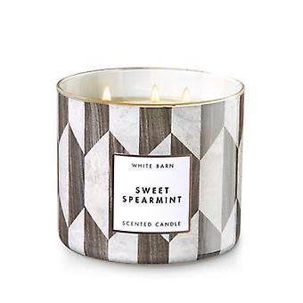Banho & corpo obras Sweet Spearmint 3 Wick Candle 14,5 oz/411 g