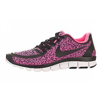 Nike Womens Free 5.0 Fabric Low Top Lace Up Running Sneaker
