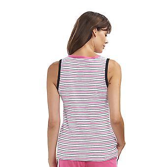 Rosch 1193206-16380 Femmes-apos;s Pure Ringlet Pink Striped Cotton Pyjama Top