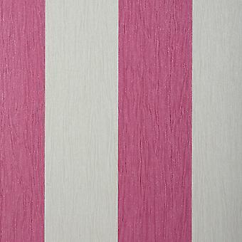 Crystal Stripe Wallpaper Pink Ivory Glitter Sparkle Striped Textured Vinyl