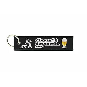 Porte cles aviation keychain don't touch my beer ne touches pas ma bierre
