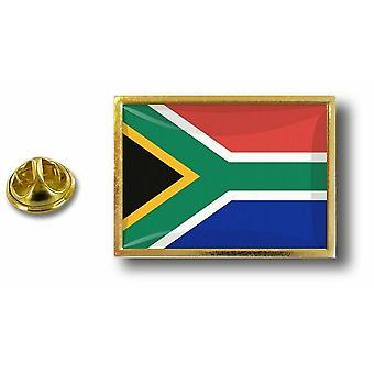 パインパインズバッジピンアポス;バタフライブラシフラッグ南アフリカの金属