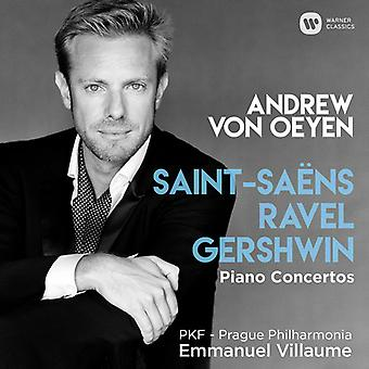 Andrew Von Oeyen - Saint-Saens / Ravel / Gershwin [CD] USA import