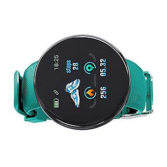 Stuff Certified ® Original D18 Smartwatch Curved HD Smartphone Fitness Sport Activity Tracker Watch iOS Android Green