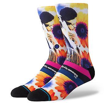 Stance Stichting heren sokken ~ Jimi zonnebloemen