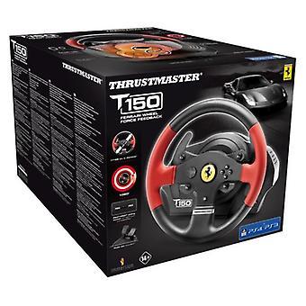 Thrustmaster T150 فيراري قوة عجلة التغذية المرتدة والدواسات (PS4/PS3/PC)