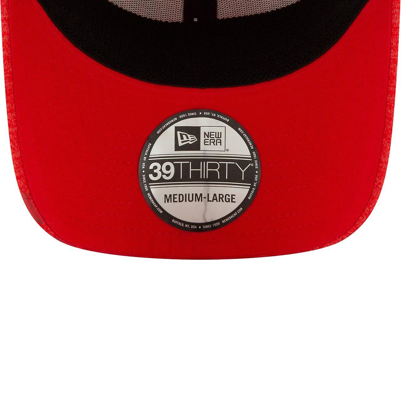 New Era 39Thirty Cap - NBA TIP OFF Houston Rockets czerwony