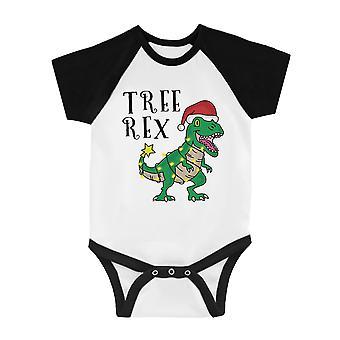 Baum Rex lustige BKWT Baby Baseball Body X-mas Geschenk