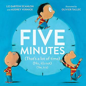 Five Minutes by Audrey Vernick