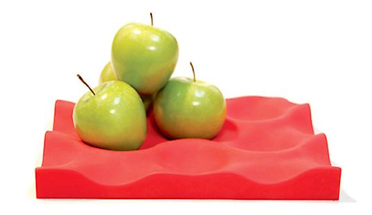Red Silicone Crate Fruit Holder Basket