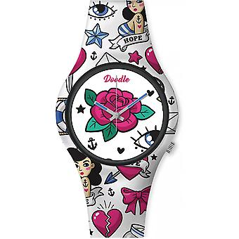 Watch Doodle AMERICANS MOOD DO35001 - ROSE 35mm joint