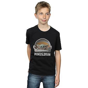 Star Wars Jungen die mandalorianischen Das Kind Pod T-Shirt
