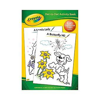 Libro de actividades Crayola Dot To Dot