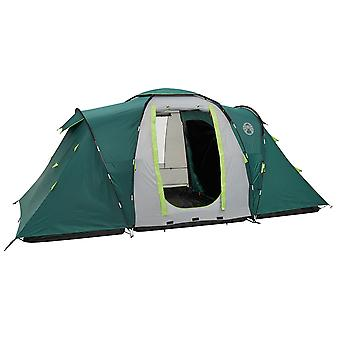 Coleman Spruce Falls Vis-a-Vis 4 Family Tent - Green/Grey