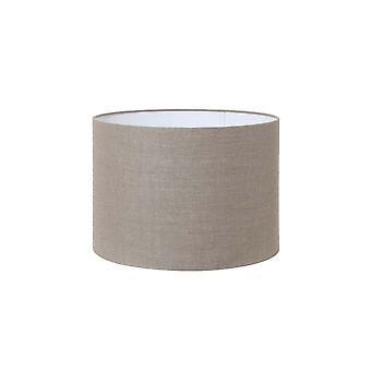 Light & Living Cylinder Shade 35x35x25cm Dark Linen