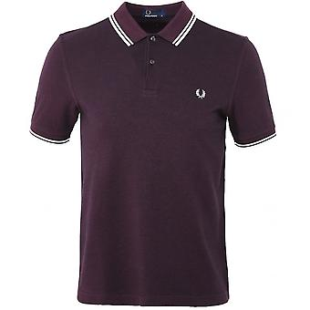 Fred Perry Twin Tipped FP Schwarz Shirt Polo