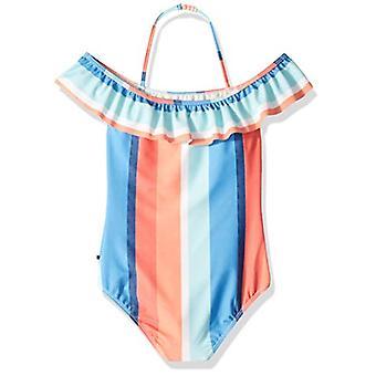 Lucky Brand Big Girls' Einteiliger Badeanzug, Lake Open, MultiColor, Größe XL16