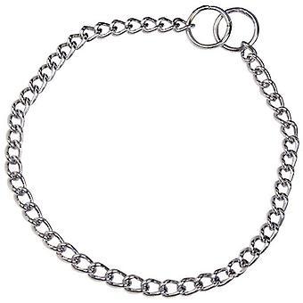HS Sprenger Collar eslabon retorcido 2,5 mm acero cromado 60 cm