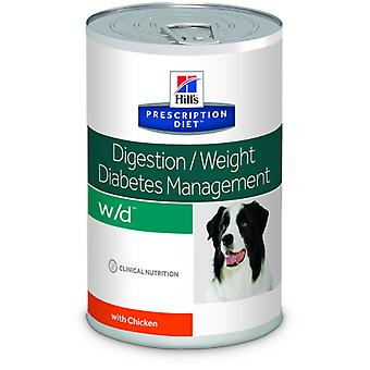 Hill's Prescription Diet W/D Canine (Dogs , Dog Food , Wet Food , Veterinary diet)