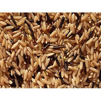 Mélange de riz sauvage et brun -( 11lb )