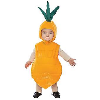 ニンジン幼児の衣装