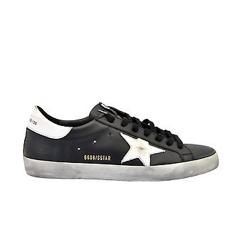 Golden Goose G35ms590l27 Men's Black Leather Sneakers