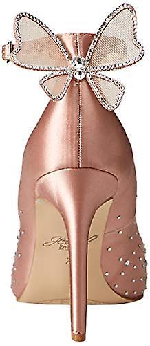 Jewel Badgley Mischka Women-apos;s KAMI Chaussure, satin blush, 9,5 M US