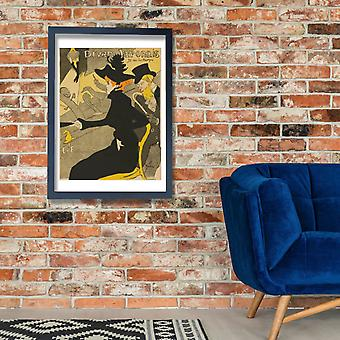 Henri Toulouse Lautrec - Le Divan Japonais Poster Print Giclee
