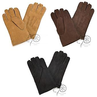 Eastern Counties Leather Mens 3 Point Stitch Sheepskin Gloves