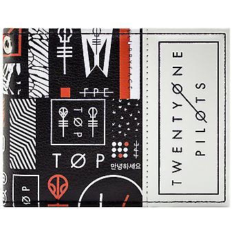 Twenty One Pilots Blurryface Band ID & Card Bi-Fold Wallet