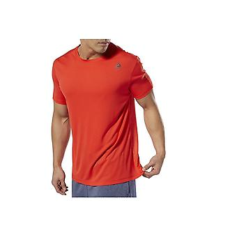 Reebok Tech Top Regular DP6162 treinando camiseta masculina de verão