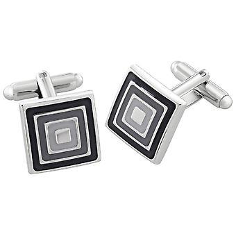 Duncan Walton Aspen Essential Cufflinks - Grey