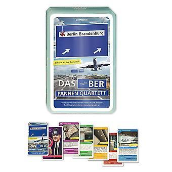 Letisko Pannen Quartet BER Berlín Pôvodná kartová hra