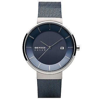 Bering Herren Uhr Armbanduhr Solar - 14639-307 Meshband