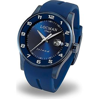 LOCMAN - Wristwatch - Men - 0600BLBW-BLW2SIB - ISLAND ONLY TIME QUARTZ