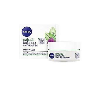 Nivea Natural Balance Day Cream Anti Falten 50ml mit Bio Arganöl