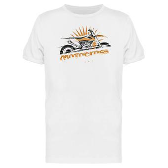 Gelb Motocross T-Shirt Herren-Bild von Shutterstock