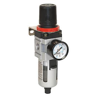 Sealey Sa2001/Fr Air Filter/Regulator With Gauge Heavy-Duty