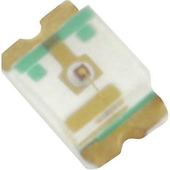 HuiYuan SMD LED 0805 Green 40 mcd 120 ° 20 mA 2.4 V