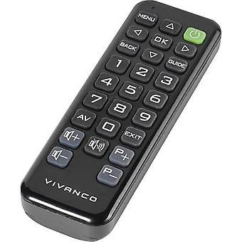 Vivanco RR Z 140 Sony Controle remoto Preto
