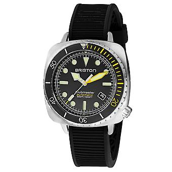 Briston 20644.S.DP.34.RB Automatic Clubmaster Diver Pro Steel Wristwatch Yellow