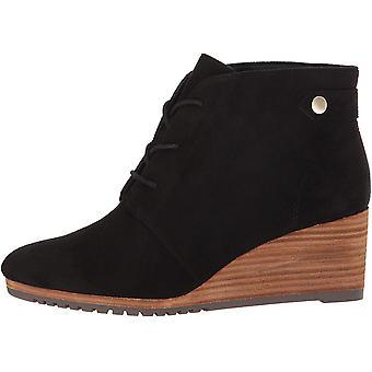 Dr. Scholl's Shoes Women's Conquer Ankle Boot, Black Microfiber, 9.5 M US