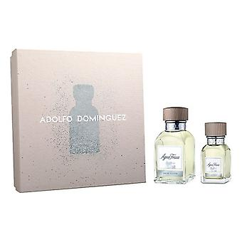 Men's Perfume Set Agua Fresca Adolfo Dominguez EDT (2 pcs)