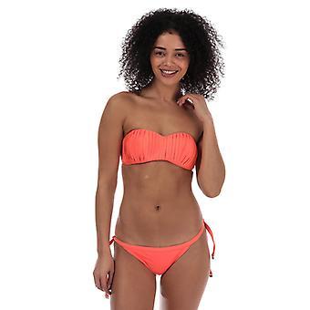 Women's Seafolly Kiara Bustier Bikini Top in Orange