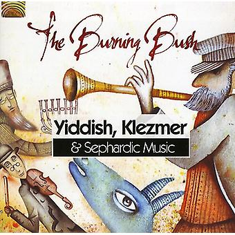 Zarza ardiente - importar de USA música Klezmer y sefardí de Yiddish [CD]