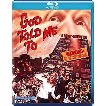 God Told Me to [BLU-RAY] USA import