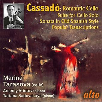 Gaspar Cassado: Romantische Cello Muziek [CD] VS import