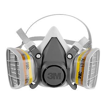 3M Halbmaske Gesichtsschutz Neues Modell mit 2x 6057 Filtern